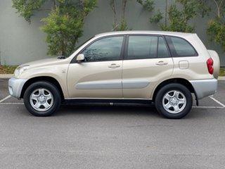 2004 Toyota RAV4 ACA23R CV Bronze 4 Speed Automatic Wagon