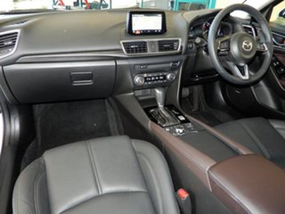 2017 Mazda 3 BN MY17 SP25 GT White 6 Speed Automatic Sedan.