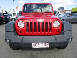 2013 Jeep Wrangler JK MY2013 Sport Red 5 Speed Automatic Softtop