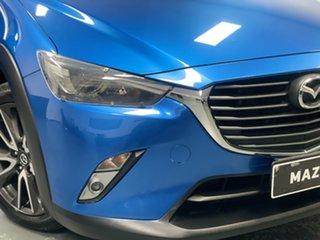 2016 Mazda CX-3 DK2W76 sTouring SKYACTIV-MT Dynamic Blue 6 Speed Manual Wagon.