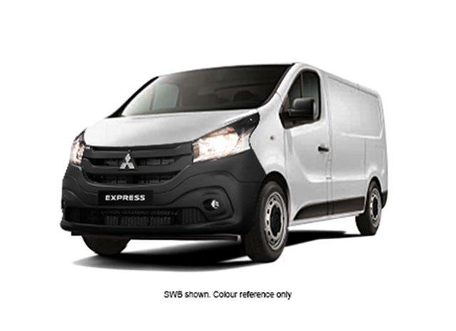 New Mitsubishi Express SN MY21 GLX LWB Hamilton, 2020 Mitsubishi Express SN MY21 GLX LWB White Solid 6 Speed Manual Van