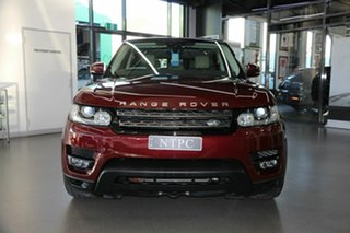2017 Land Rover Range Rover Sport L494 17MY SE Maroon 8 Speed Sports Automatic Wagon