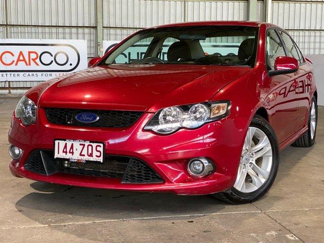 Used Ford Falcon FG XR6 Rocklea, 2011 Ford Falcon FG XR6 Red 6 Speed Sports Automatic Sedan