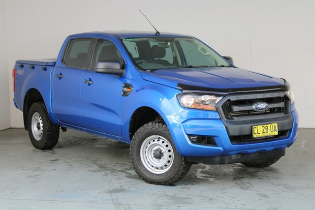 Used Ford Ranger PX MkII XL Phillip, 2017 Ford Ranger PX MkII XL Blue 6 Speed Sports Automatic Utility