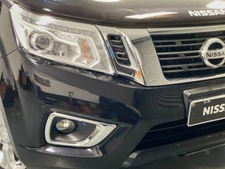 2018 Nissan Navara D23 S3 ST Cosmic Black 7 Speed Sports Automatic Utility.