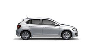 2021 Volkswagen Polo AW Comfortline Reflex Silver 7 Speed Semi Auto Hatchback