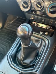 2016 Toyota Hilux GUN126R SR (4x4) Silver Sky 6 Speed Manual Dual Cab Utility