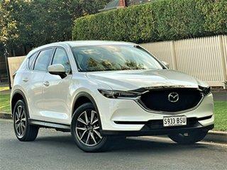 2017 Mazda CX-5 KF4W2A GT SKYACTIV-Drive i-ACTIV AWD White 6 Speed Sports Automatic Wagon.