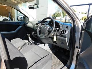 2017 Mazda BT-50 UR0YG1 XT Aluminium 6 Speed Manual Cab Chassis.