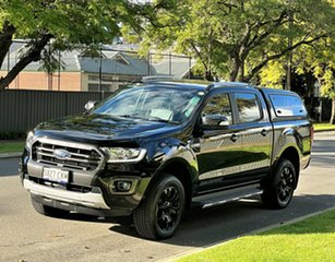 2019 Ford Ranger PX MkIII 2019.00MY Wildtrak Black 6 Speed Manual Double Cab Pick Up.