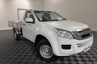 2015 Isuzu D-MAX MY15 SX White 5 speed Automatic Cab Chassis.