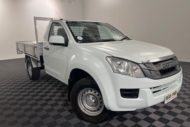 Used Isuzu D-MAX MY15 SX Acacia Ridge, 2015 Isuzu D-MAX MY15 SX White 5 speed Automatic Cab Chassis