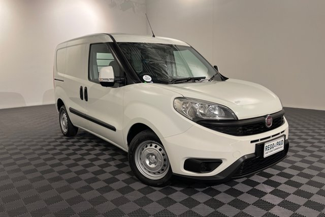 Used Fiat Doblo 263 Series 1 Low Roof SWB Comfort-matic Acacia Ridge, 2016 Fiat Doblo 263 Series 1 Low Roof SWB Comfort-matic White 5 speed Automatic Van