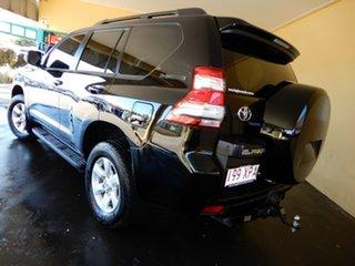 2014 Toyota Landcruiser Prado KDJ150R MY14 GXL (4x4) Black 5 Speed Sequential Auto Wagon.