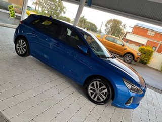2017 Hyundai i30 GD4 Series 2 Up Active Blue 6 Speed Sports Automatic Hatchback