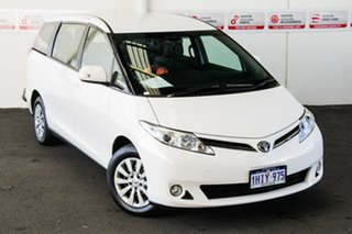 2019 Toyota Tarago ACR50R GLi Glacier White 7 Speed Constant Variable Mini Bus.