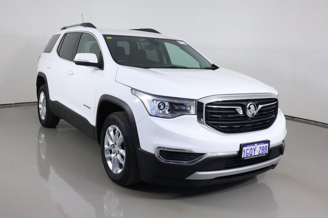 Used Holden Acadia AC MY19 LT (2WD) Bentley, 2018 Holden Acadia AC MY19 LT (2WD) White 9 Speed Automatic Wagon