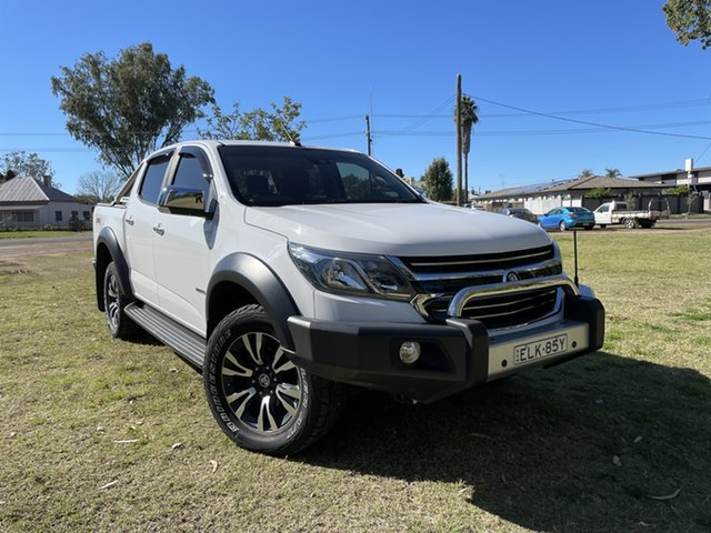 Used Holden Colorado RG MY18 LTZ Pickup Crew Cab Moree, 2018 Holden Colorado RG MY18 LTZ Pickup Crew Cab White 6 Speed Sports Automatic Utility