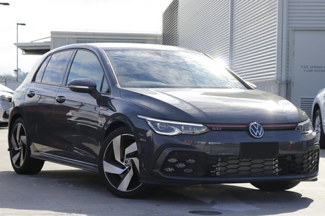 New Volkswagen Golf 8 MY21 GTI DSG Liverpool, 2021 Volkswagen Golf 8 MY21 GTI DSG Dolphin Grey 7 Speed Sports Automatic Dual Clutch Hatchback