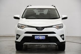 2016 Toyota RAV4 ZSA42R GXL 2WD White 6 Speed Manual Wagon.