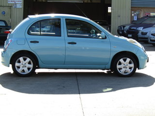 2008 Nissan Micra K12 Abyss Blue 4 Speed Automatic Hatchback