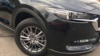 2018 Mazda CX-5 KF4WLA Touring SKYACTIV-Drive i-ACTIV AWD Black/Grey 6 Speed Sports Automatic Wagon.