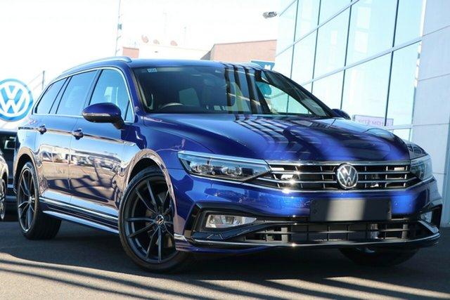 New Volkswagen Passat 3C (B8) MY21 206TSI DSG 4MOTION R-Line Indooroopilly, 2021 Volkswagen Passat 3C (B8) MY21 206TSI DSG 4MOTION R-Line Lapiz Blue 6 Speed