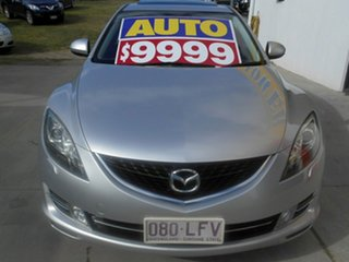 2008 Mazda 6 GH1051 Luxury Sports Silver 5 Speed Sports Automatic Hatchback.
