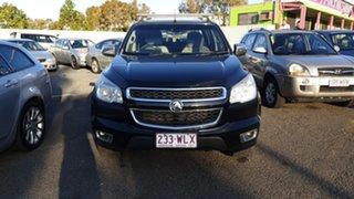 2015 Holden Colorado RG MY15 LTZ (4x4) Black 6 Speed Automatic Crew Cab Pickup.