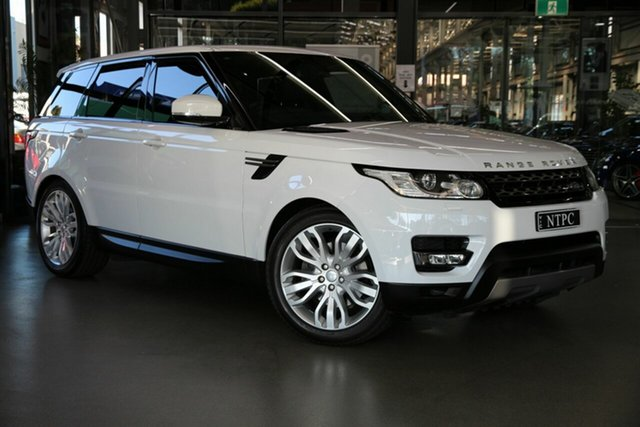 Used Land Rover Range Rover Sport L494 16MY SE North Melbourne, 2015 Land Rover Range Rover Sport L494 16MY SE White 8 Speed Sports Automatic Wagon