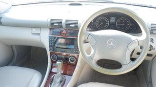 2005 Mercedes-Benz C-Class W203 MY2005 C200 Kompressor Classic Blue 5 Speed Sports Automatic Sedan
