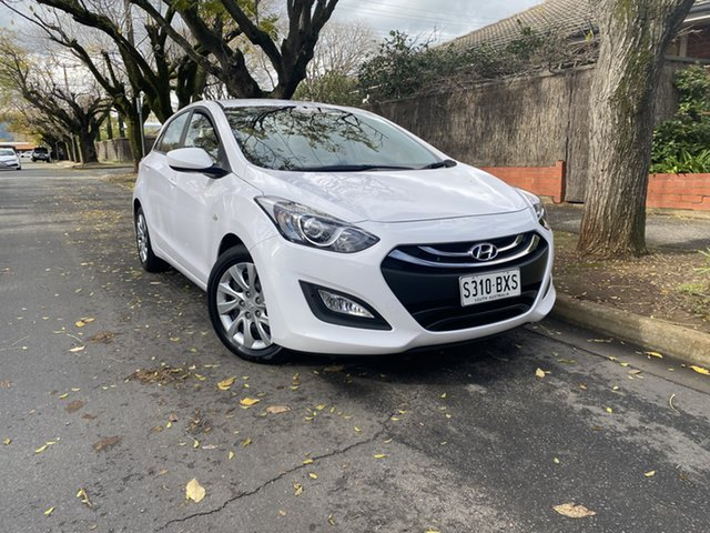 Pre-Owned Hyundai i30 GD2 Active Hawthorn, 2014 Hyundai i30 GD2 Active White 6 Speed Sports Automatic Hatchback