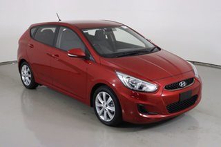 2018 Hyundai Accent RB6 MY18 Sport Red 6 Speed Automatic Hatchback