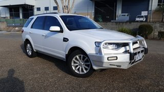 2016 Ford Territory SZ MK2 TX (RWD) White 6 Speed Automatic Wagon.