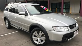 2005 Holden Adventra VZ CX6 Silver 5 Speed Automatic Wagon.