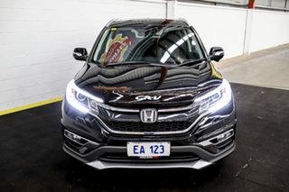 2015 Honda CR-V RM Series II MY16 VTi-L 4WD Black 5 Speed Sports Automatic Wagon.