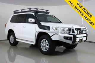 2014 Toyota Landcruiser VDJ200R MY13 GXL (4x4) White 6 Speed Automatic Wagon.