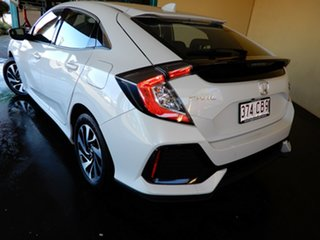 2019 Honda Civic 50 Years Edition White Continuous Variable Hatchback.
