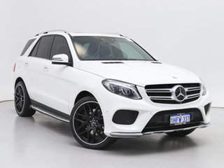 2015 Mercedes-Benz GLE400 166 White 7 Speed Automatic Wagon.