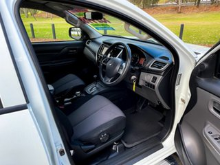 2016 Mitsubishi Triton MQ MY17 GLX Plus (4x4) White 5 Speed Automatic Club Cab Pickup