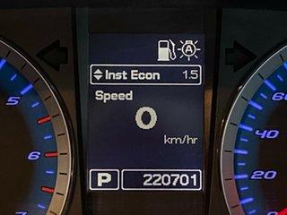 2011 Ford Falcon FG XR6 Red 6 Speed Sports Automatic Sedan