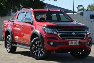 2017 Holden Colorado RG MY18 LTZ Pickup Crew Cab Red 6 Speed Sports Automatic Utility.