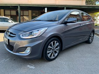 2016 Hyundai Accent RB4 MY16 SR Sonic Silver 6 Speed Sports Automatic Hatchback