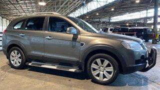 2008 Holden Captiva CG MY08 LX AWD Grey 5 Speed Sports Automatic Wagon.