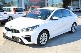 2020 Kia Cerato BD MY20 S White 6 Speed Sports Automatic Sedan.