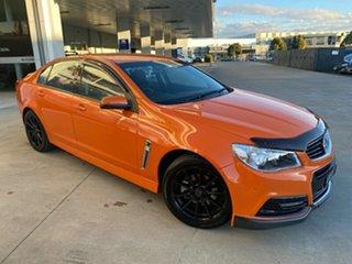 2014 Holden Commodore VF MY14 SV6 Orange 6 Speed Sports Automatic Sedan.