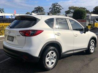 2016 Mazda CX-5 KE1072 Maxx SKYACTIV-Drive FWD White 6 Speed Sports Automatic Wagon