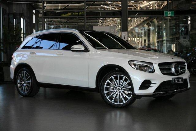 Used Mercedes-Benz GLC-Class X253 809MY GLC250 d 9G-Tronic 4MATIC North Melbourne, 2018 Mercedes-Benz GLC-Class X253 809MY GLC250 d 9G-Tronic 4MATIC White 9 Speed Sports Automatic