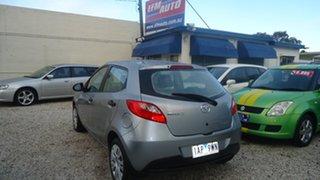 2010 Mazda 2 DE10Y1 Neo Silver 4 Speed Automatic Hatchback.