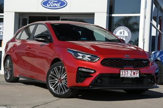 2020 Kia Cerato BD MY20 GT DCT Red 7 Speed Sports Automatic Dual Clutch Hatchback.